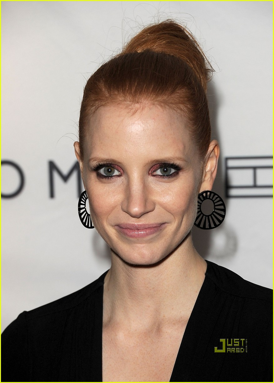 jessica chastain instyle hfpa event 092580360