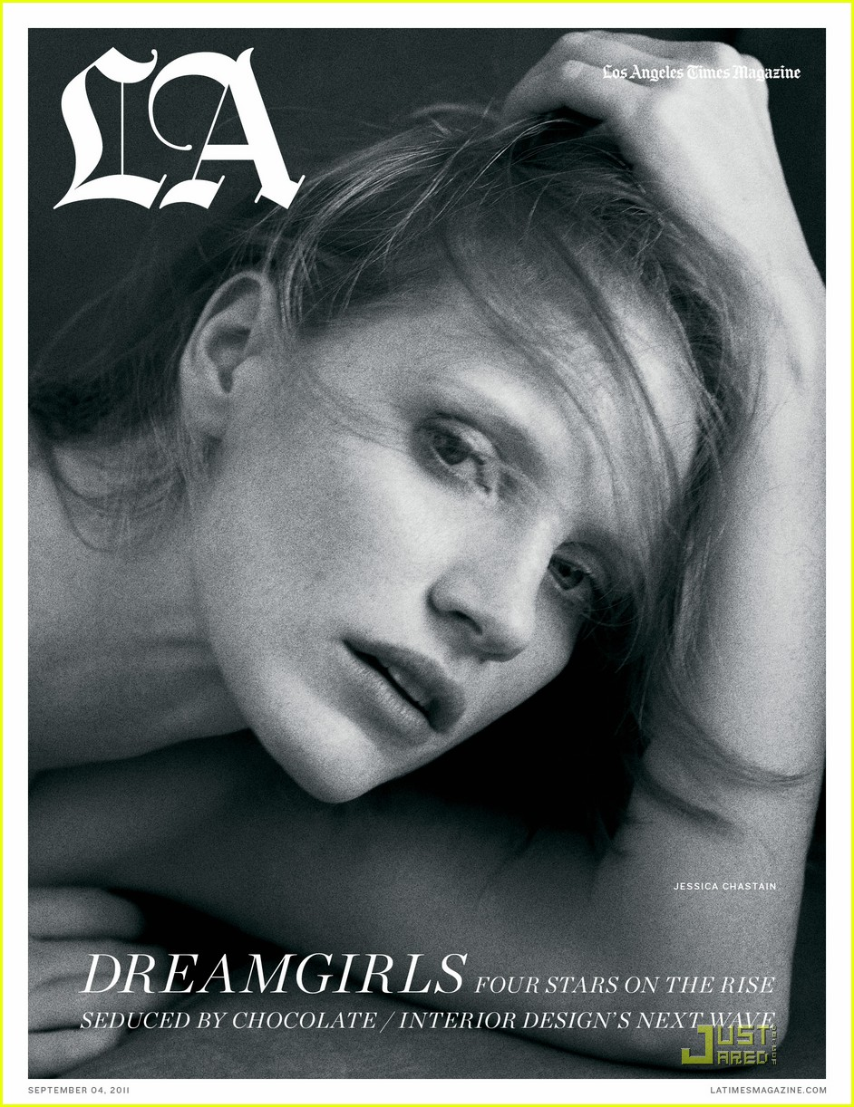 jessica chastain covers los angeles times magazine 01