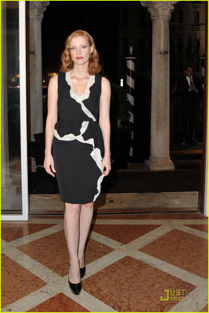 jessica chastain al pacino party 052576480