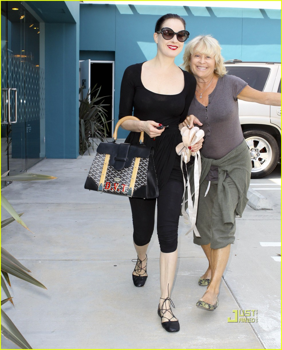 Full Sized Photo of dita von teese windsor pilates 02 ... Dita Von Teese