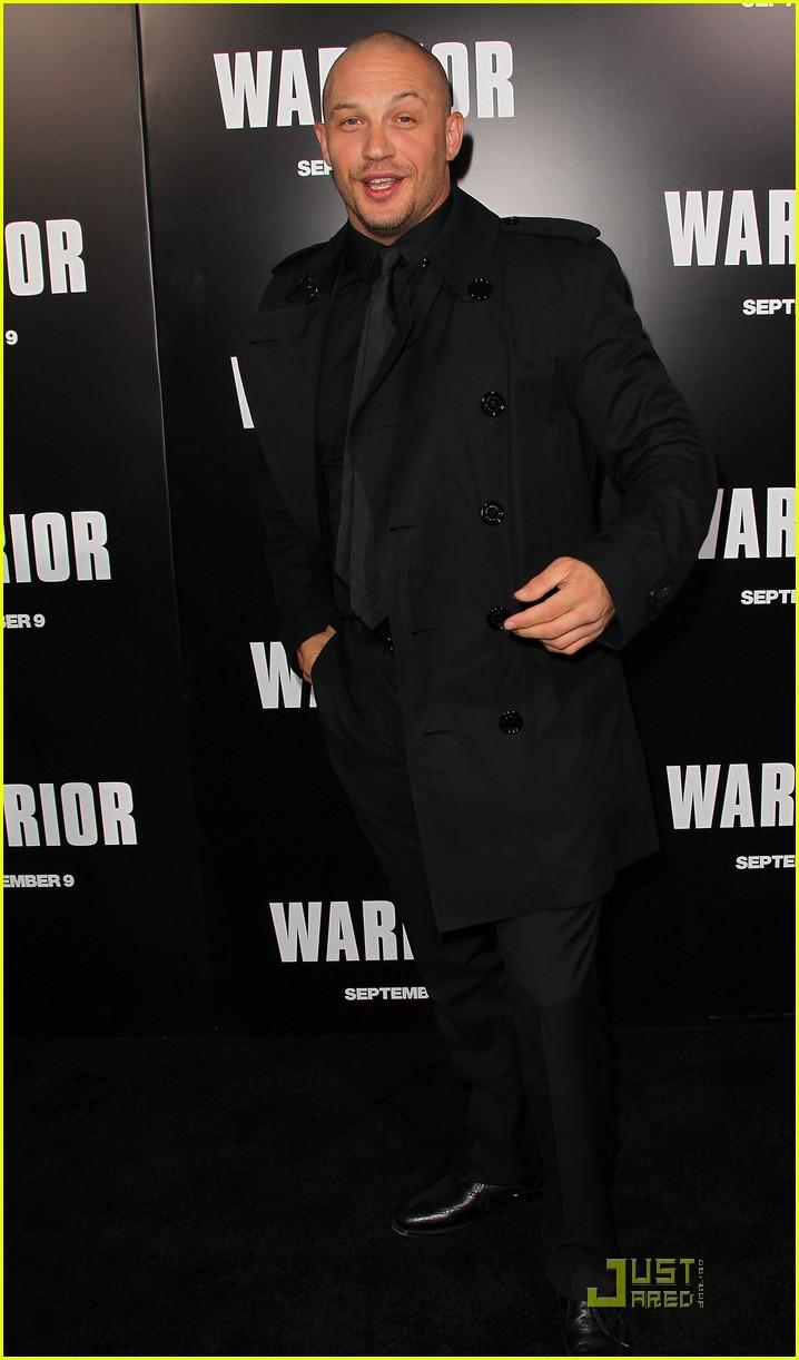 tom hardy warrior premiere 012577311