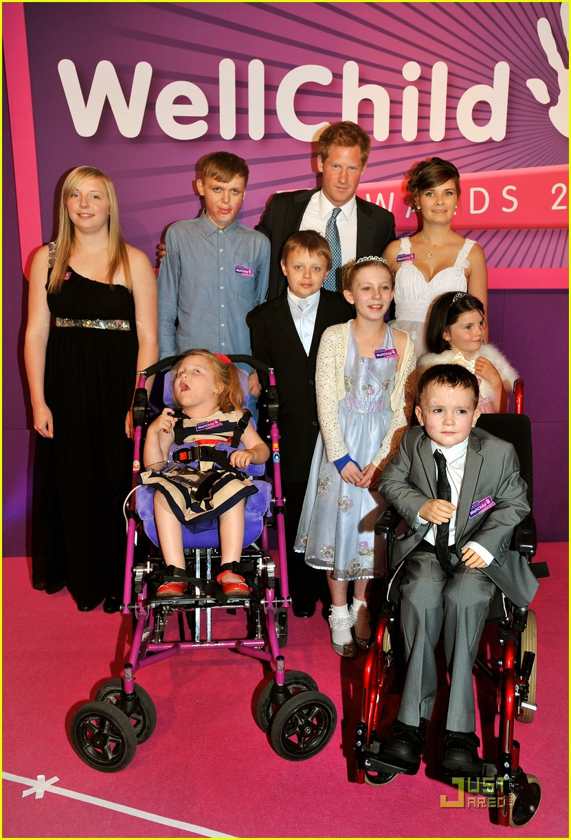 prince harry wellchild awards 032575382