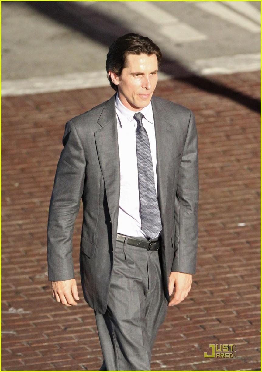 The Dark Knight Rises Christian Bale