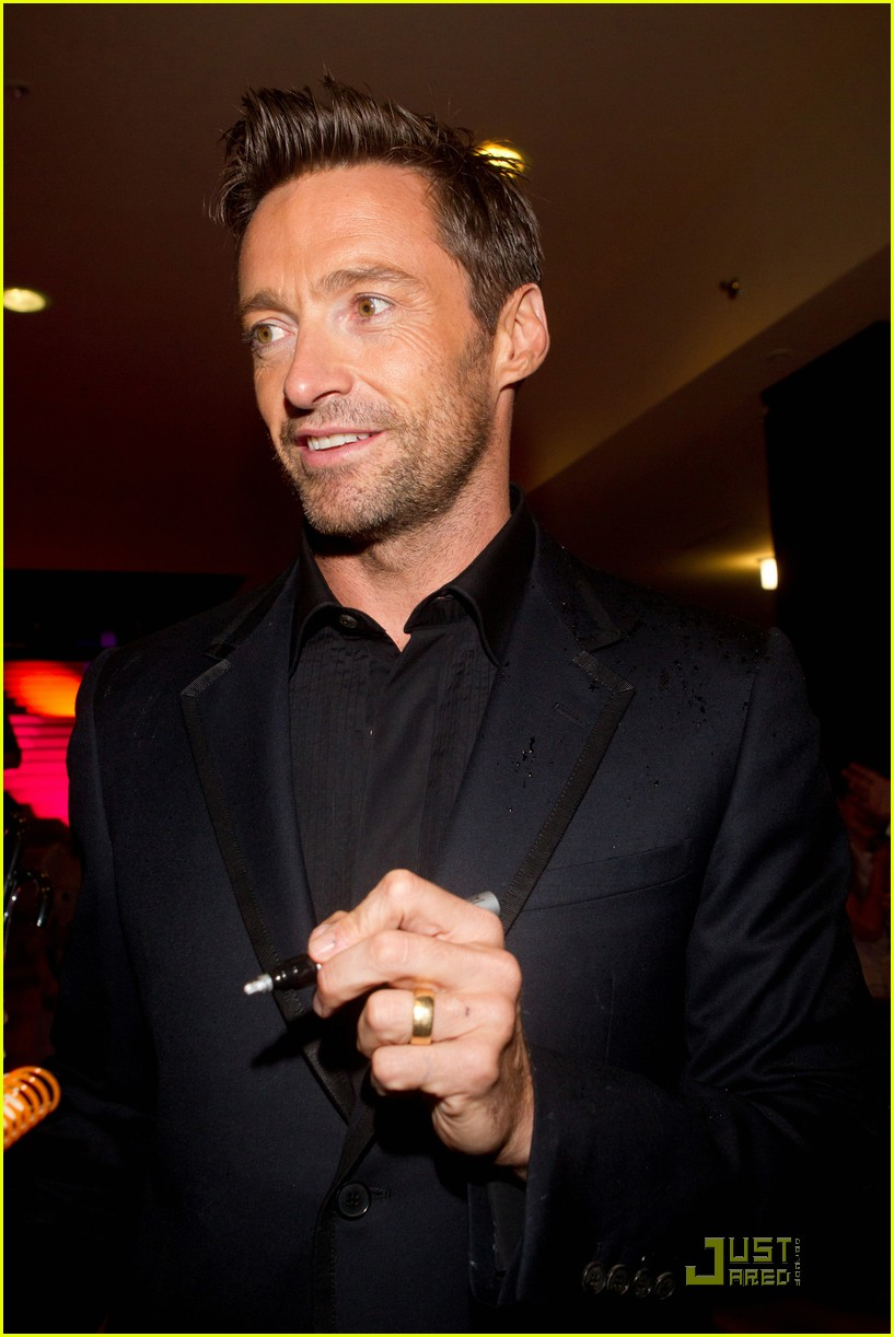 hugh jackman real steel moscow premiere 09