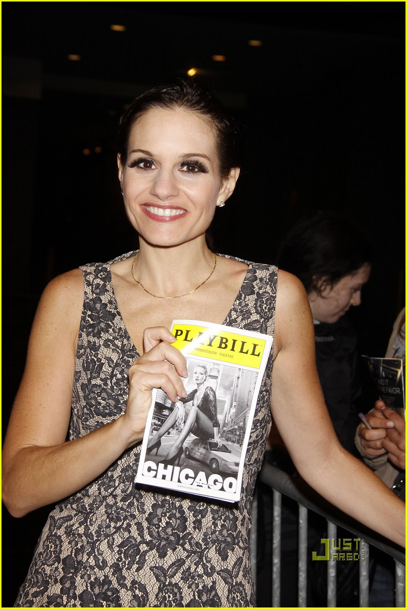 kara dioguardi chicago opening night 08