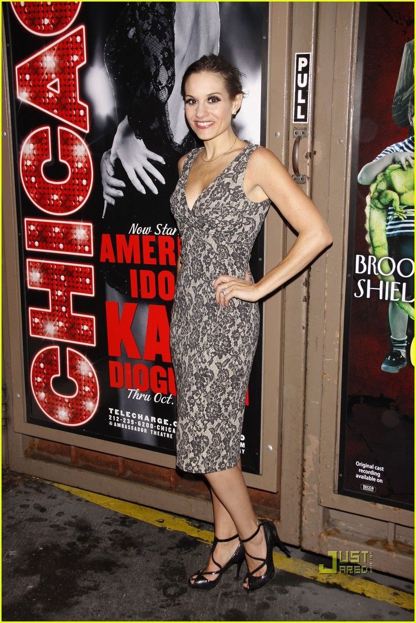 kara dioguardi chicago opening night 092577371