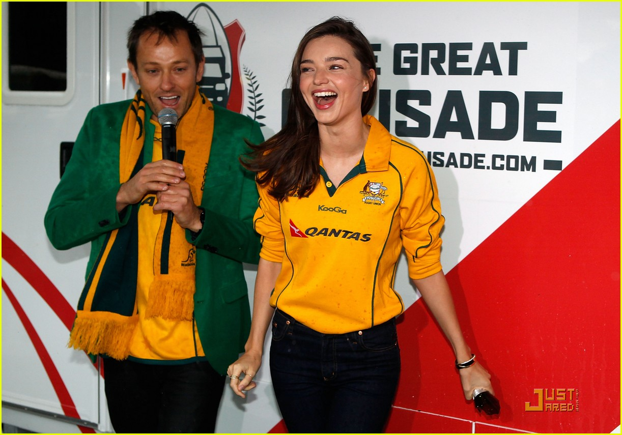 miranda kerr launches the great crusade 072578708