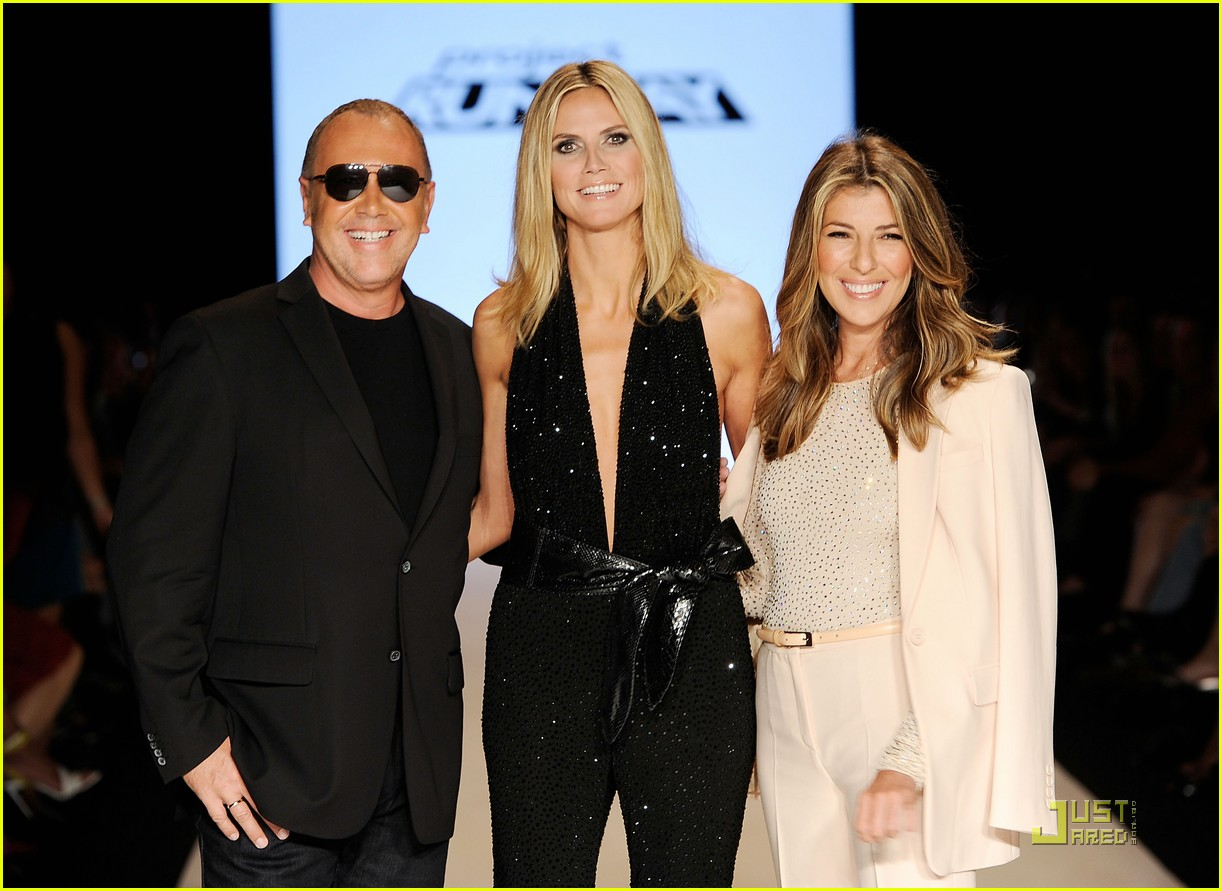 heidi klum project runway christian siriano fashion shows 02