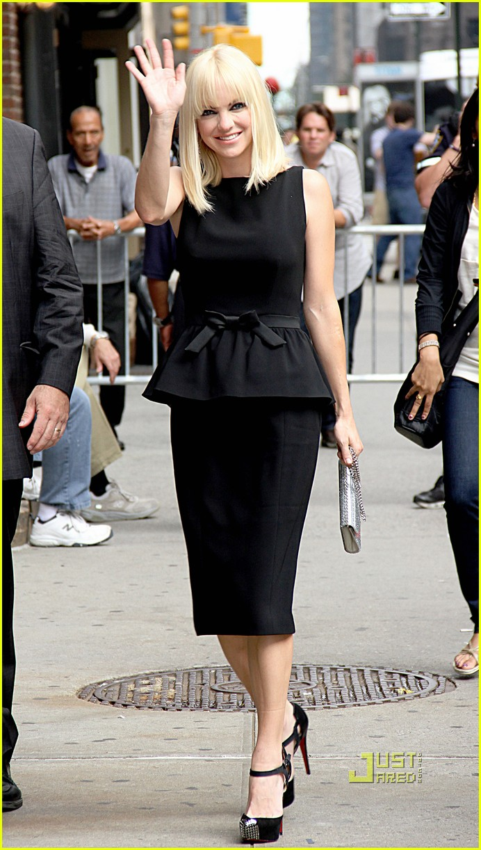 anna faris late show letterman marie claire express 072584763