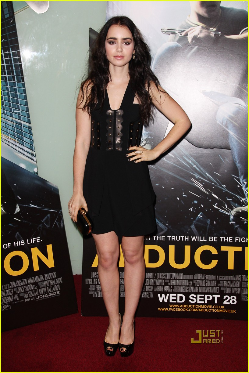 taylor lautner lily collins abduction uk premiere 042584246