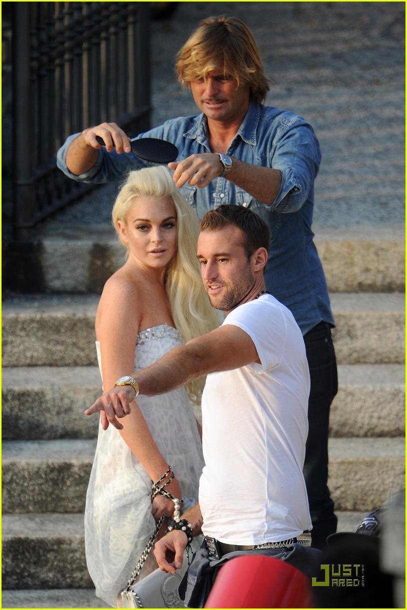 Lindsay Lohan: Philipp Plein Photo Shoot!: Photo 2583980 ...