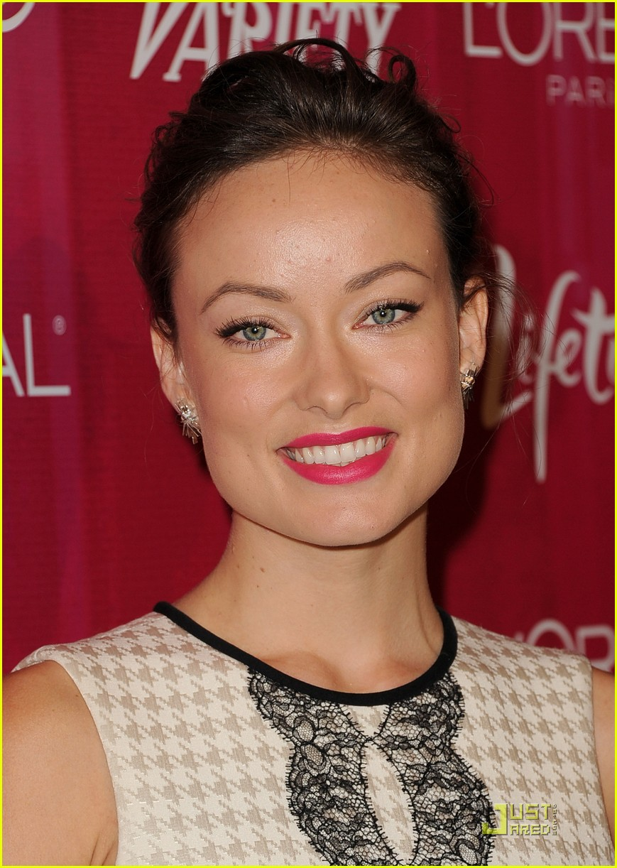 lea michele olivia wilde variety power women luncheon 07
