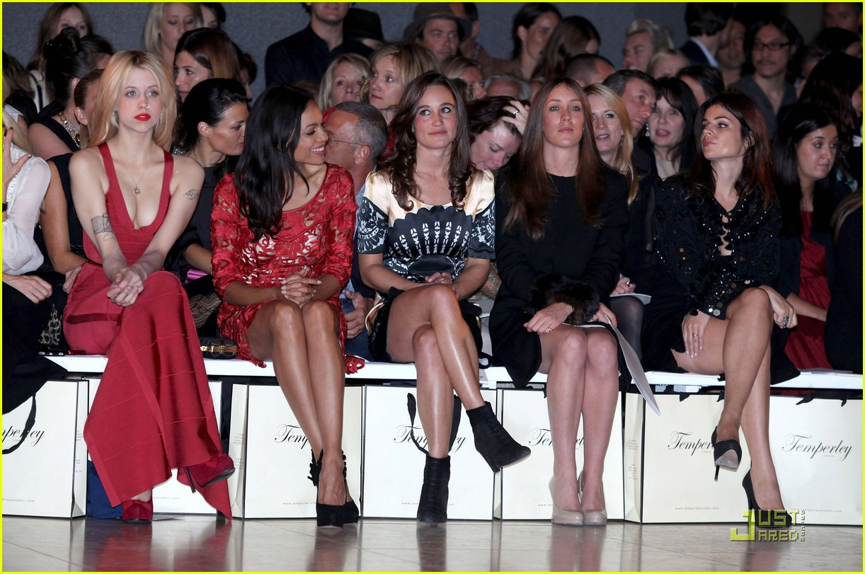 pippa middleton temperley london fashion show 082582009