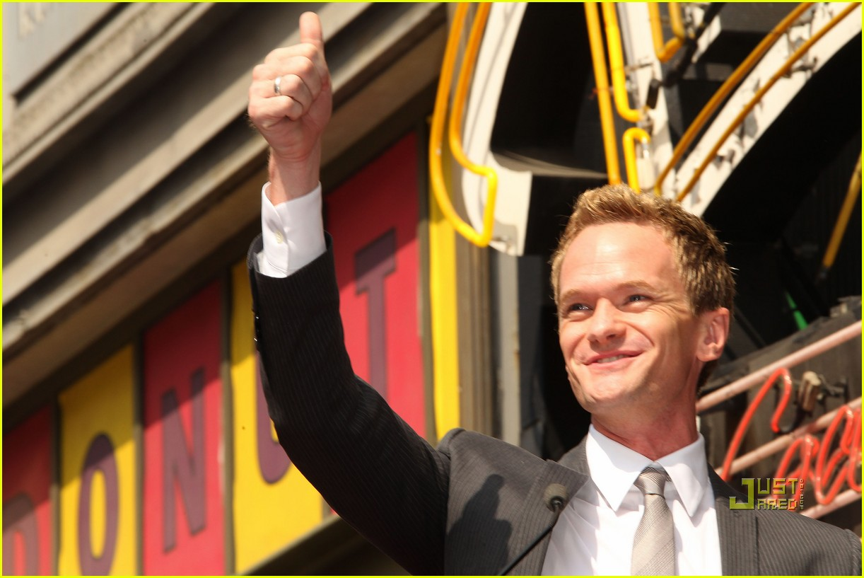neil patrick harris hollywood walk of fame 08