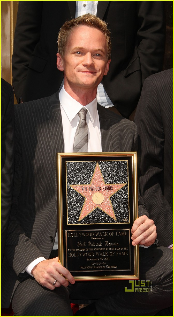neil patrick harris hollywood walk of fame 142580595