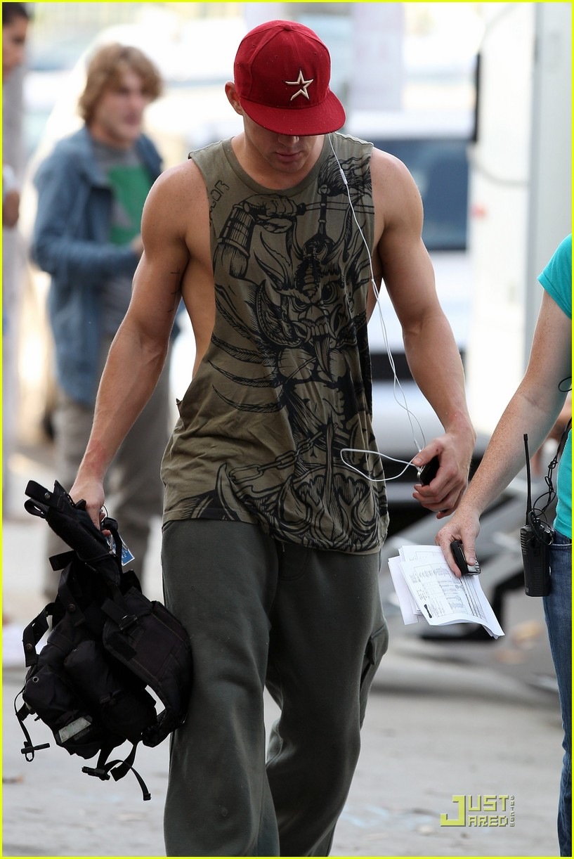 alex pettyfer channing tatum magic mike filming 02
