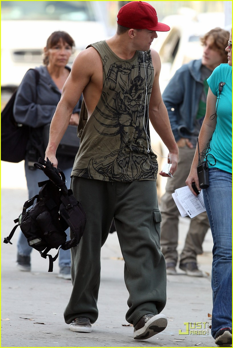 alex pettyfer channing tatum magic mike filming 09