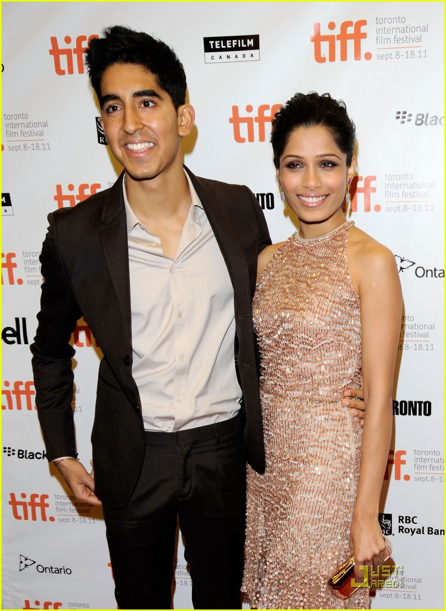 Family photo of the actress, dating Dev Patel, famous for Trishna & Unity.
