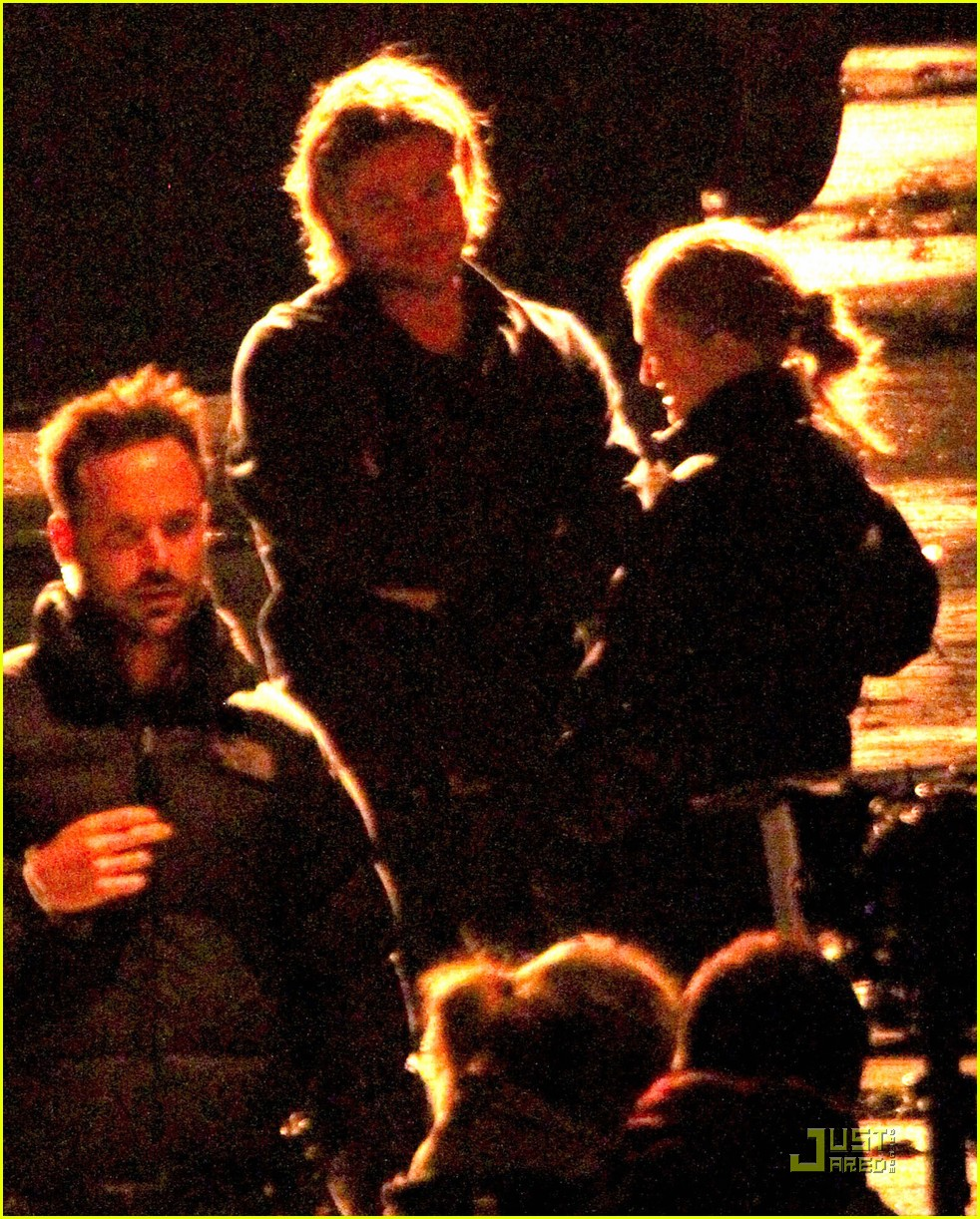 brad pitt late night world war z shoot 02