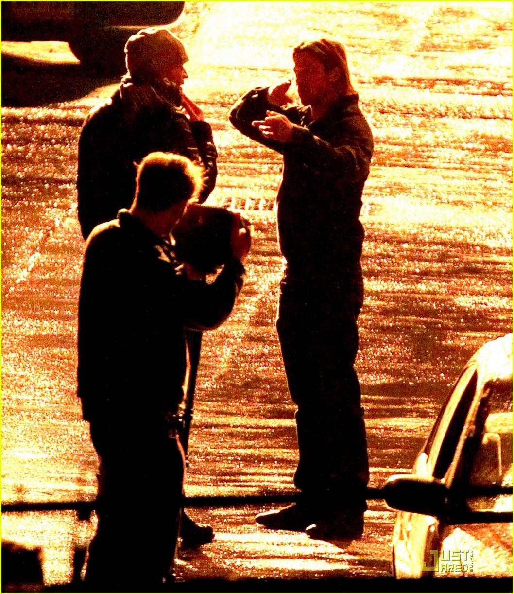 brad pitt late night world war z shoot 062583719