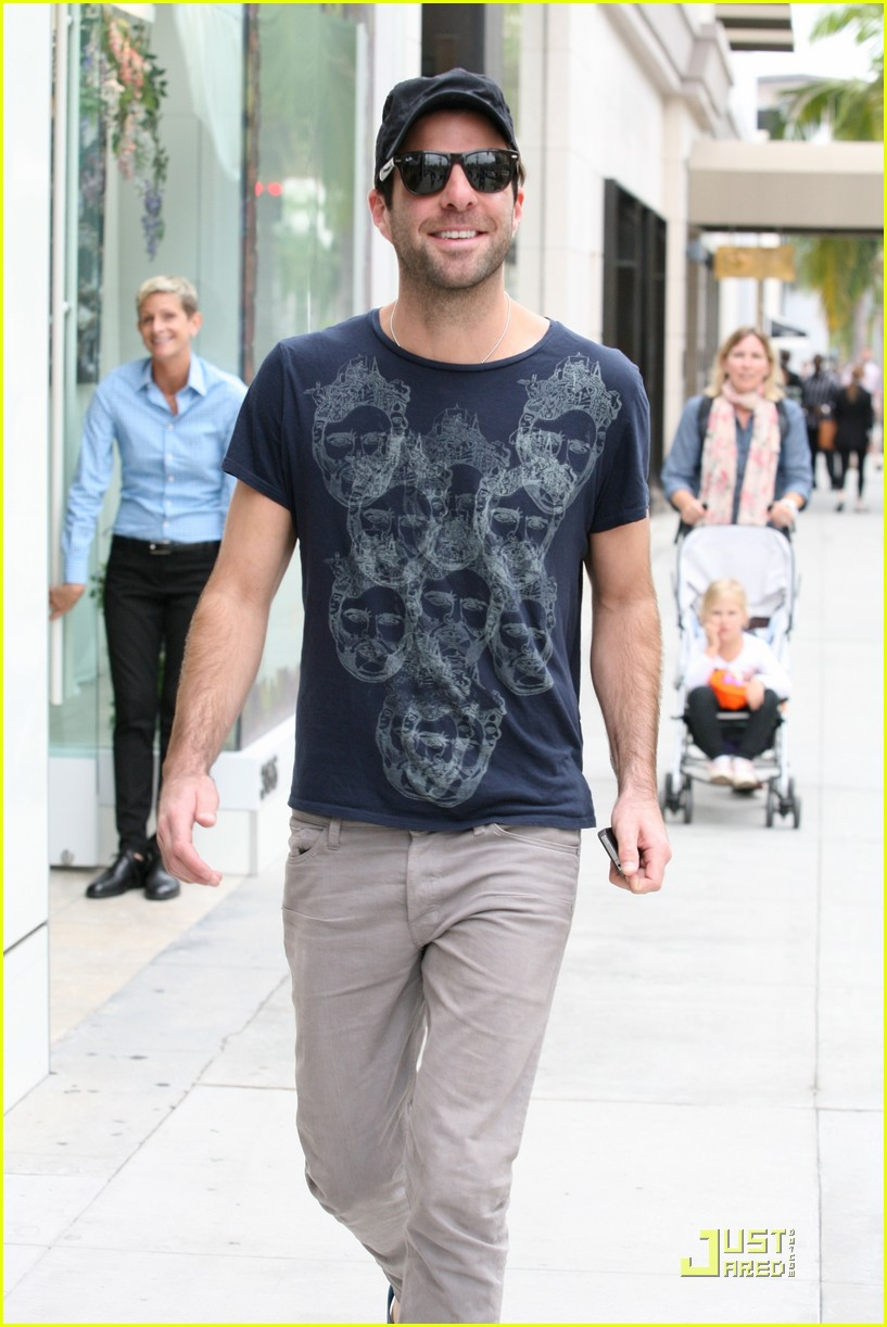 zachary quinto emmys party jewelry shopping 022581165