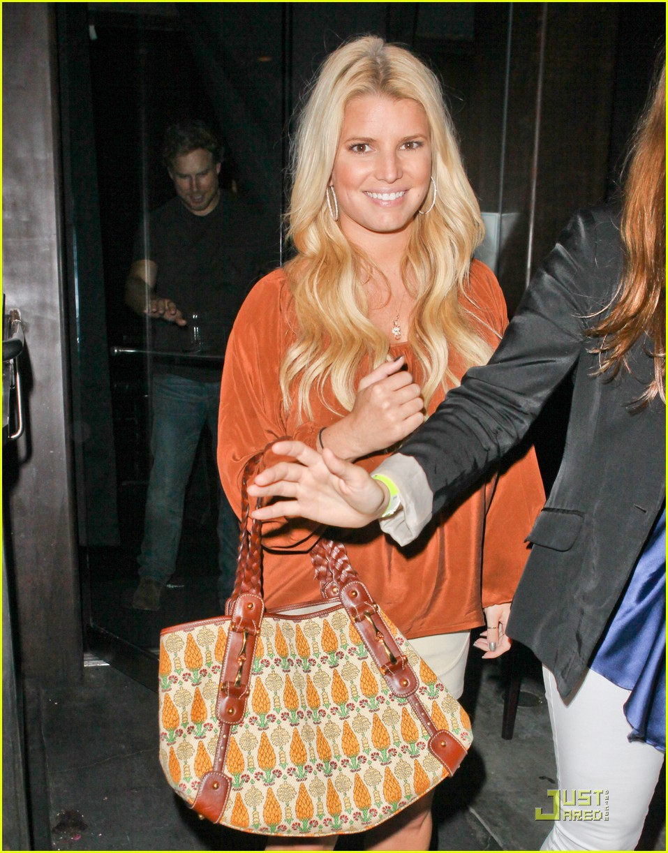 jessica simpson eric johnson one year engagement party 022581095