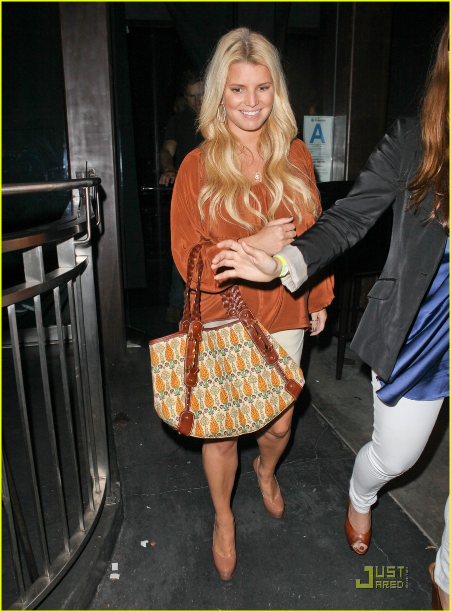 jessica simpson eric johnson one year engagement party 062581099