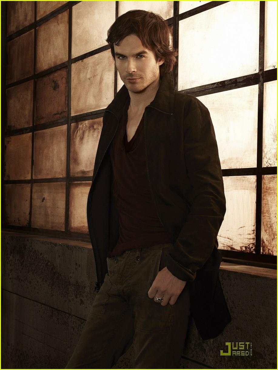 Ian Somerhalder: 'Vampire Diaries' Season 3 Promo Pics ... Ian Somerhalder Photoshoot 2011