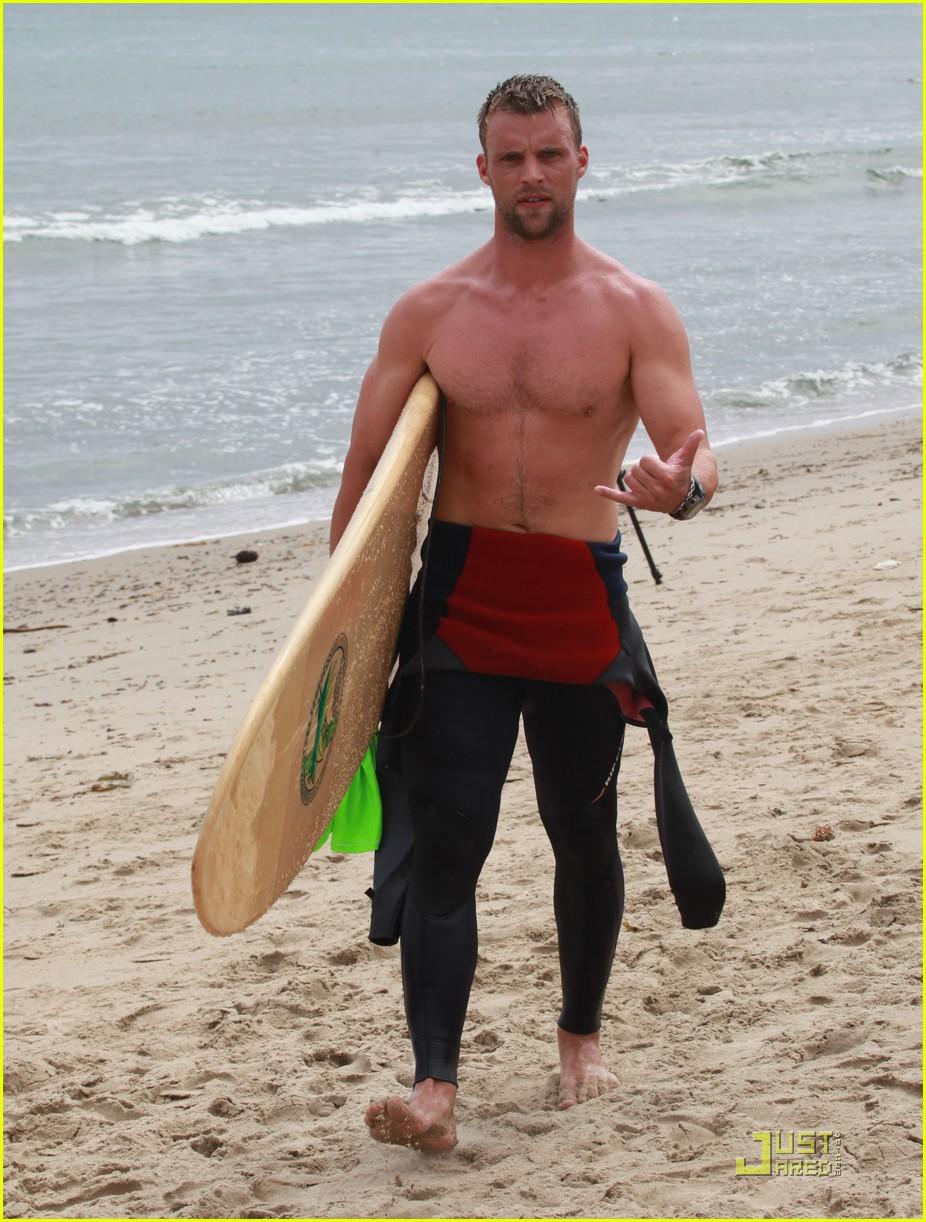jesse spencer shirtless surfer 112579614
