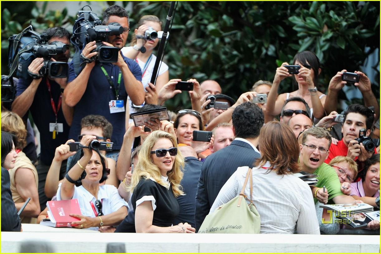madonna we photo call venice film festival 082575448
