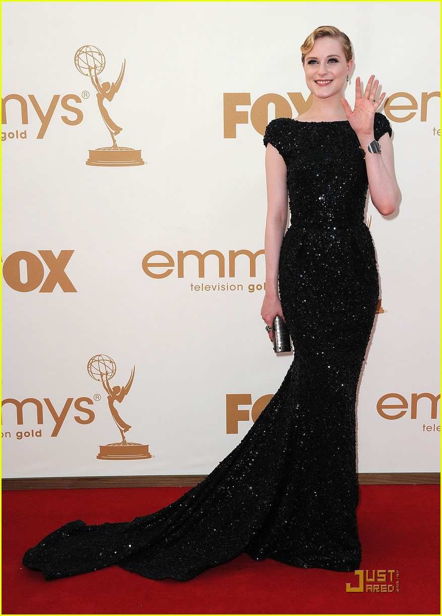 evan rachel wood emmys 2011 red carpet 01