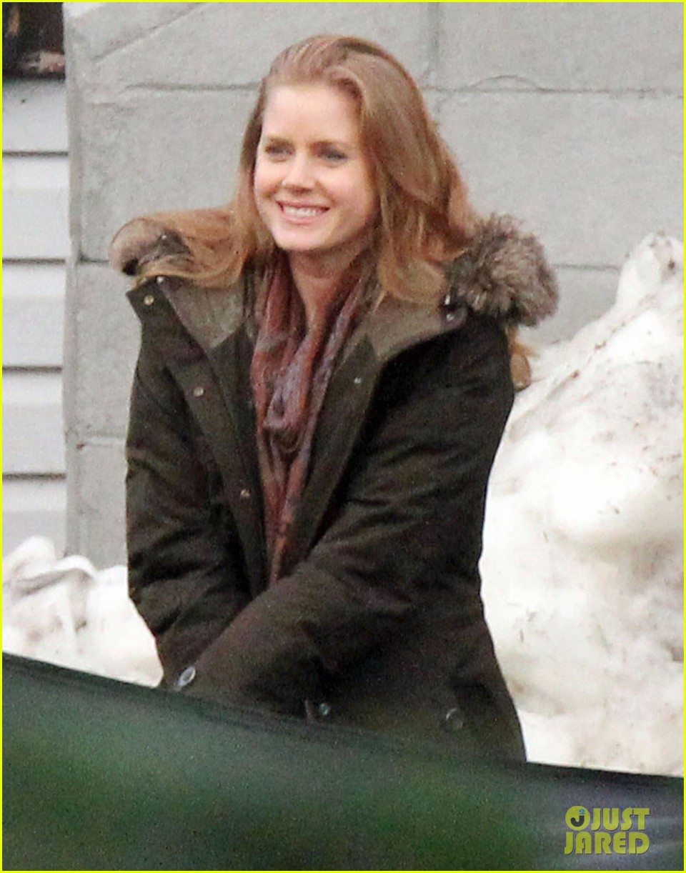 amy adams on set of man of steel 092588878