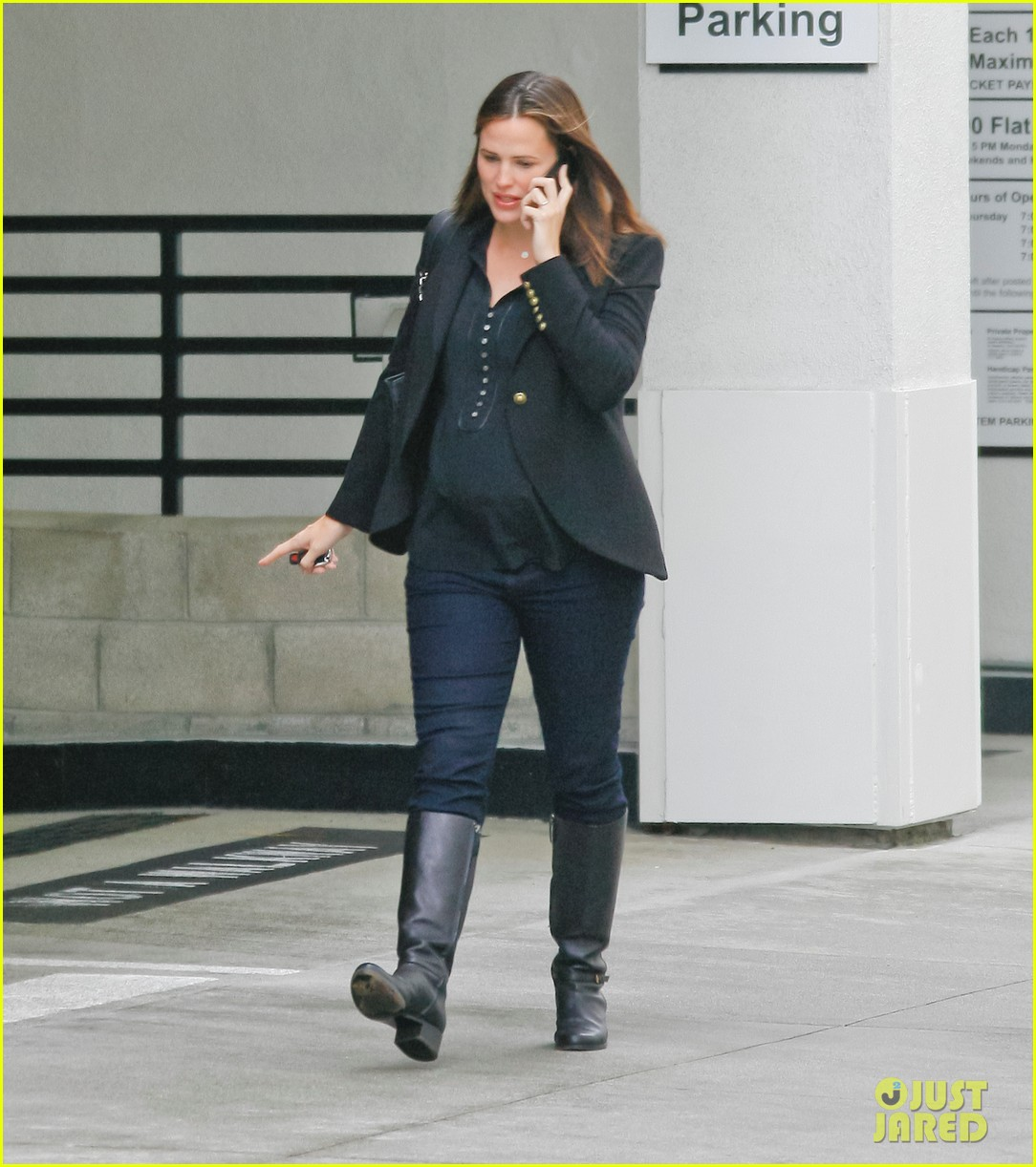 jennifer garner ben affleck huckleberry 03