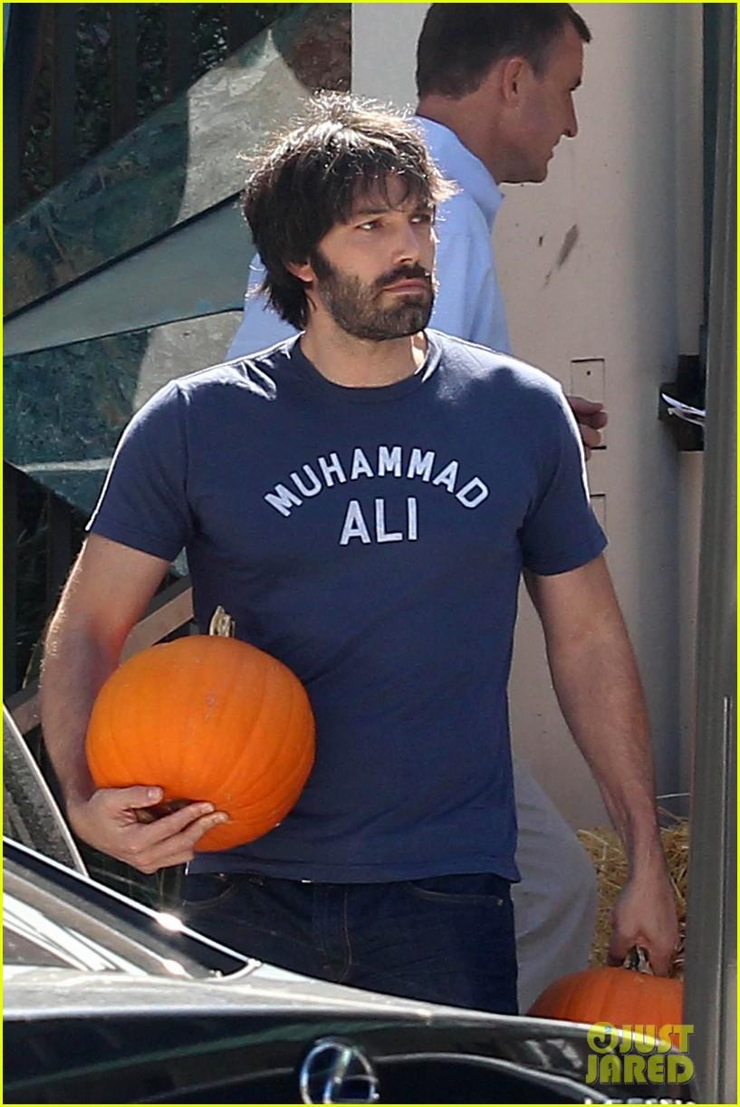 ben affleck jennifer garner pumpkins 152588324