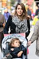 jessica alba out nyc family 06