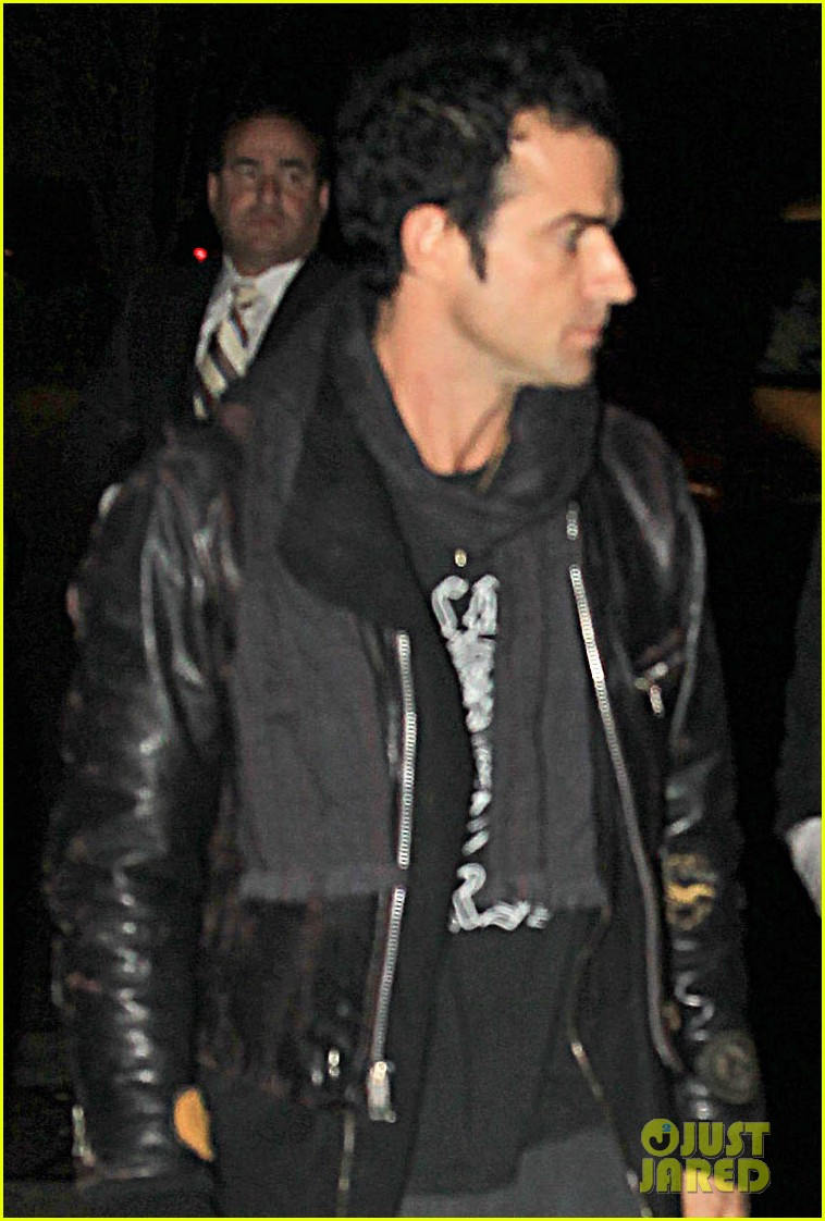jennifer aniston justin theroux snl after party 022588172