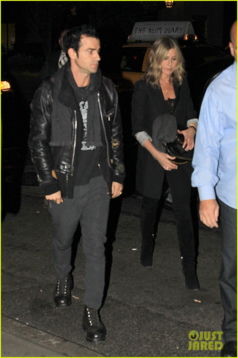jennifer aniston justin theroux snl after party 032588173