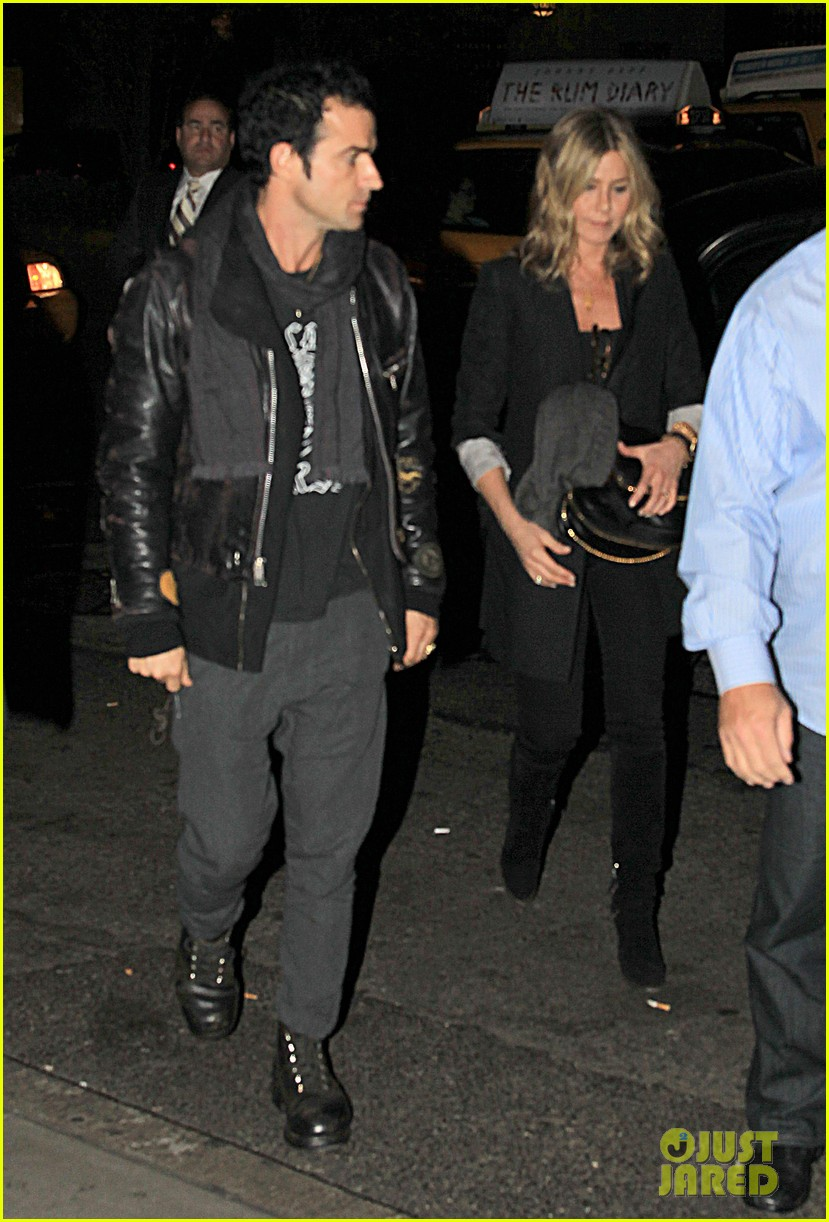 jennifer aniston justin theroux snl after party 042588174
