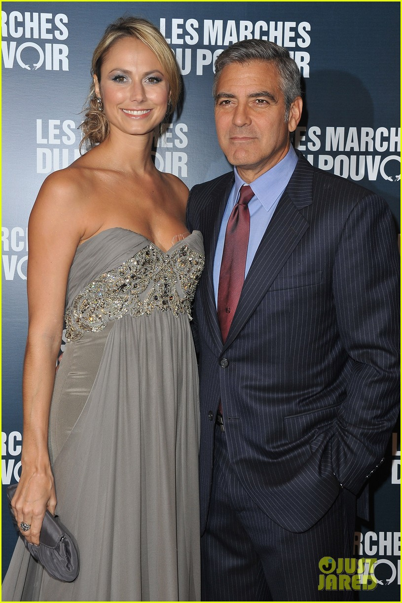 george clooney stacy keibler paris 11