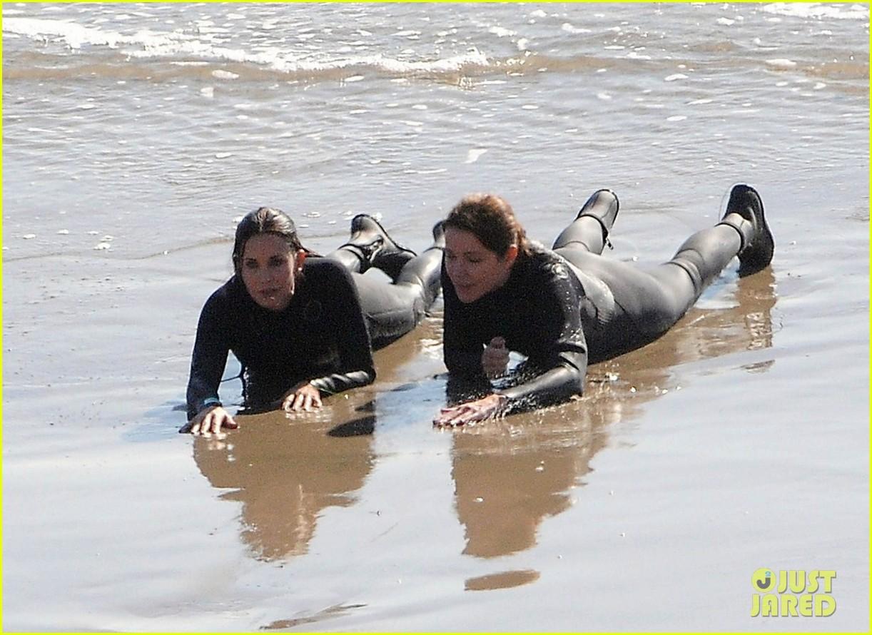 courteney cox beach cougar town 062594889