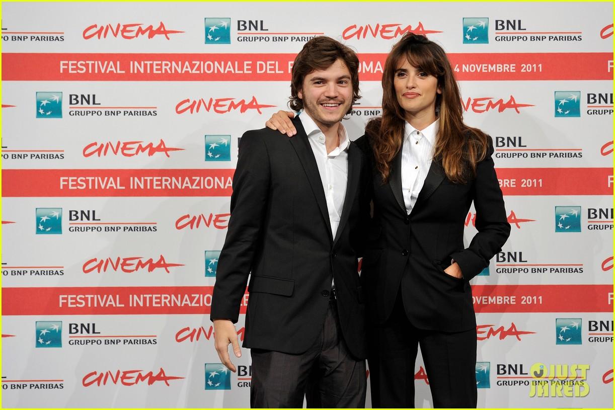 penelope cruz emile hirsch rome film festival 12