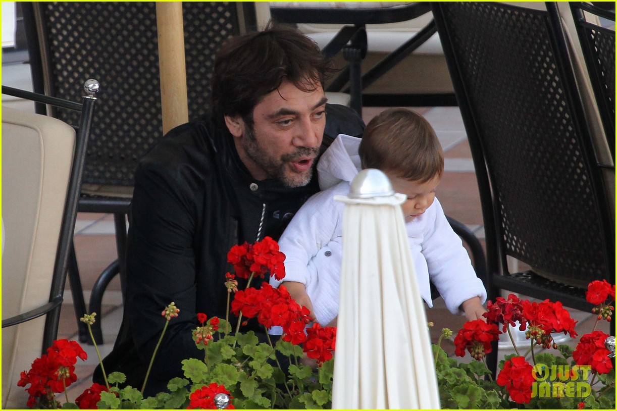 penelope cruz javier bardem leo lunch 04