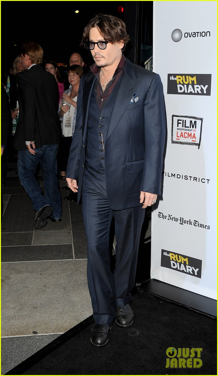 johnny depp rum diary premiere 092589662