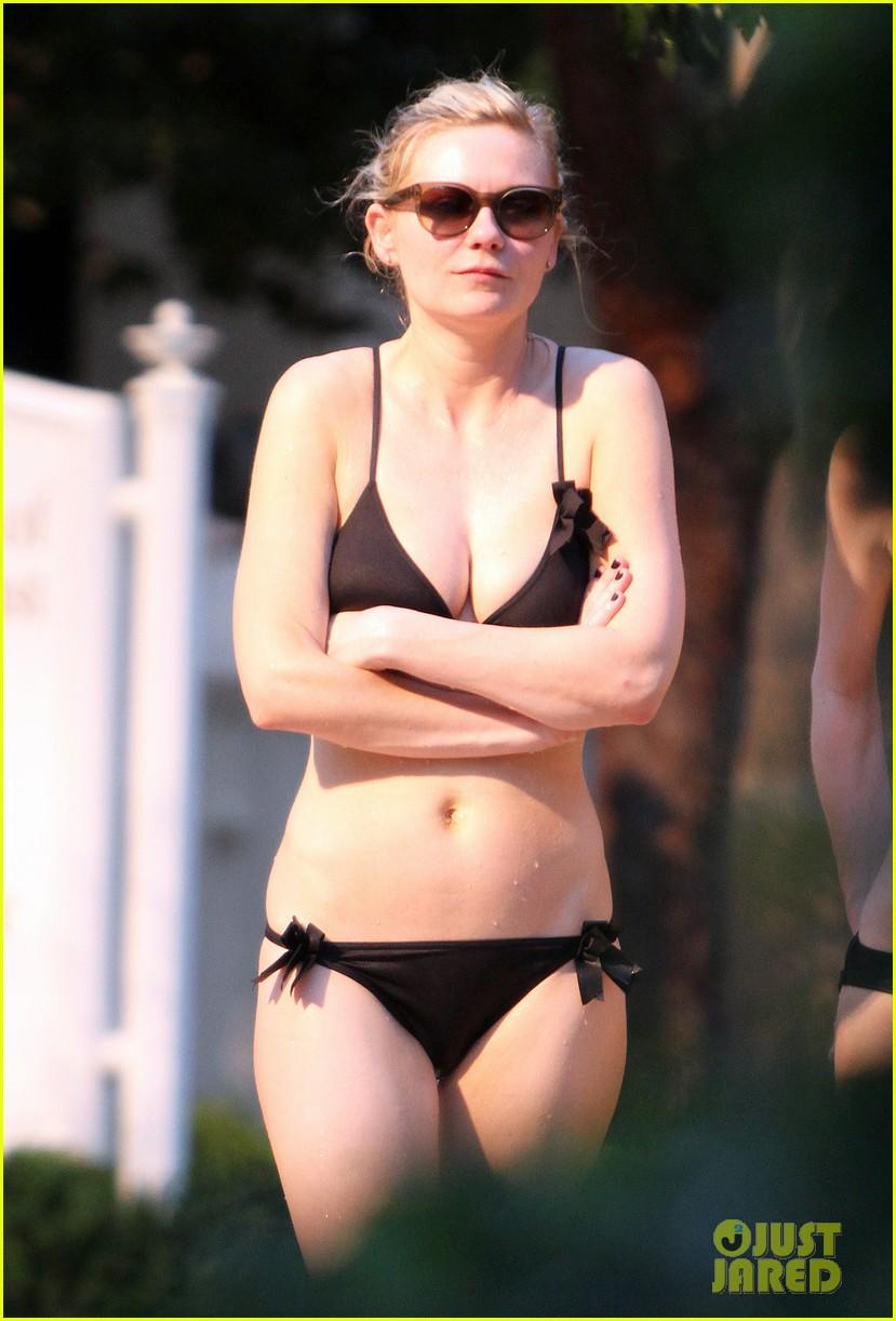 Bikini dunst in kirsten
