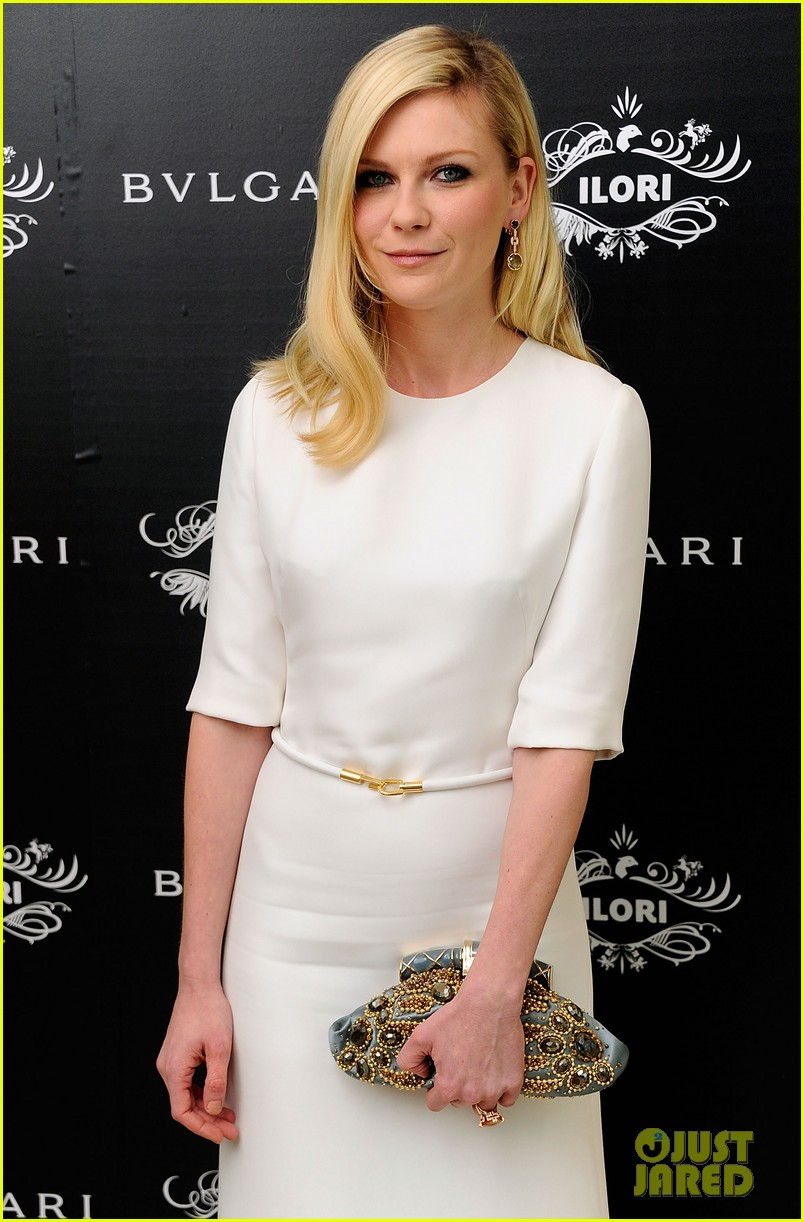 kirsten dunst bulgari eyewear launch 02