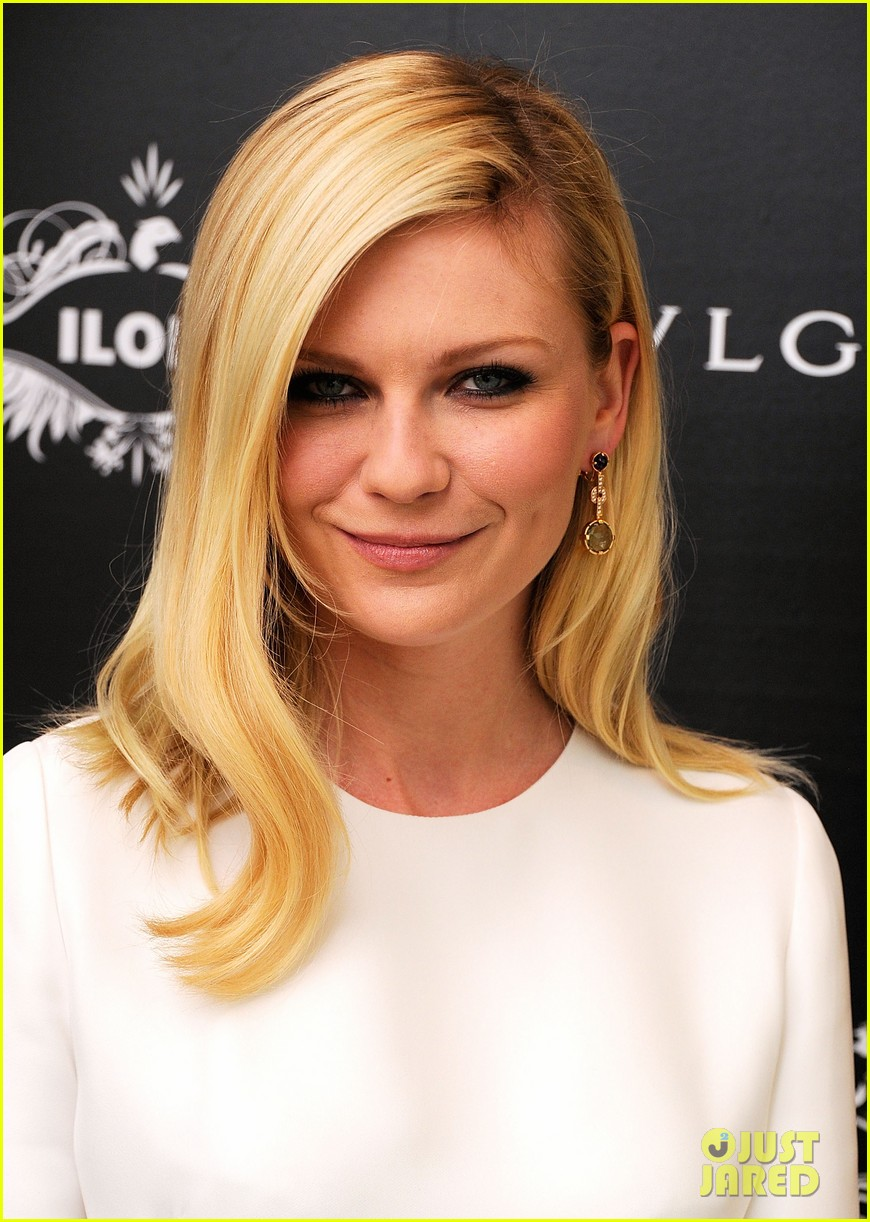 kirsten dunst bulgari eyewear launch 072586897