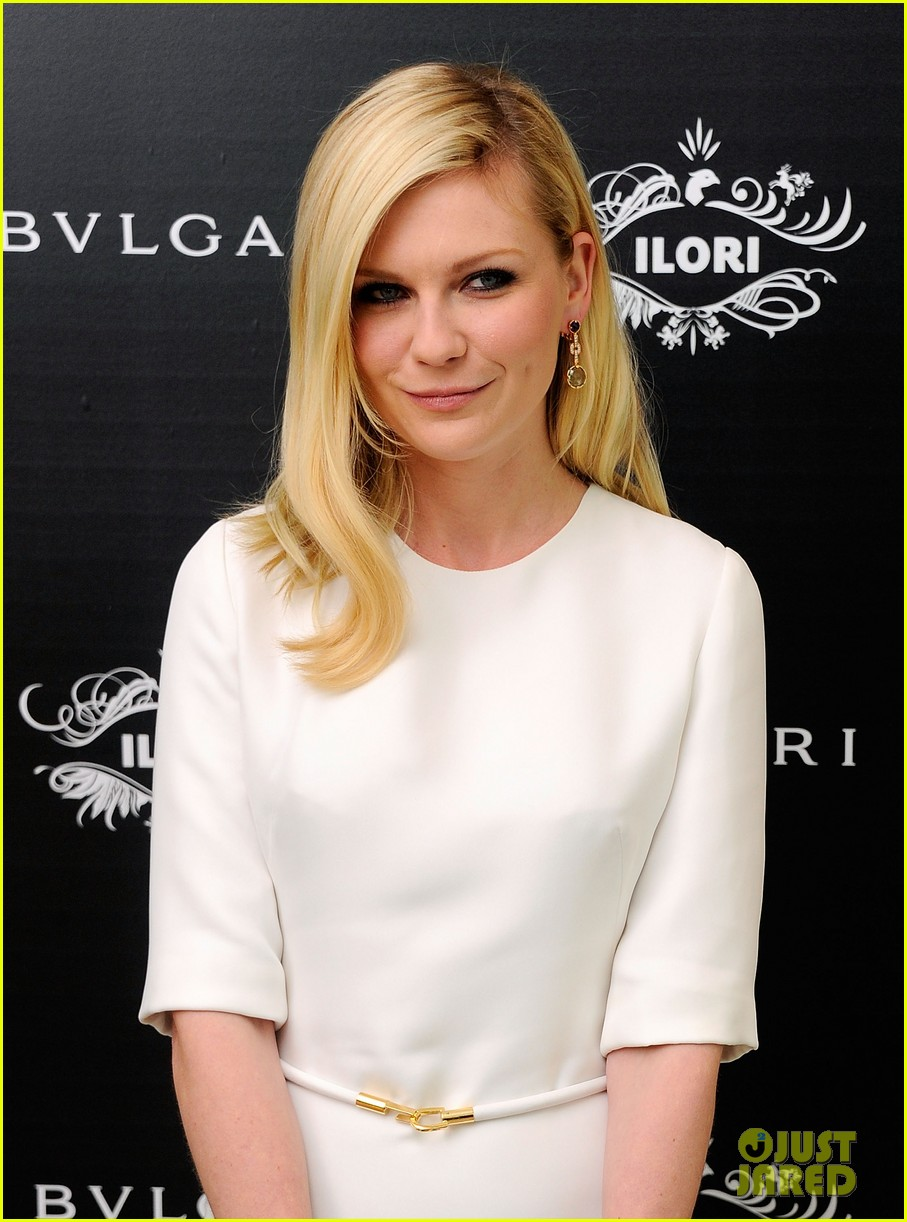 kirsten dunst bulgari eyewear launch 10