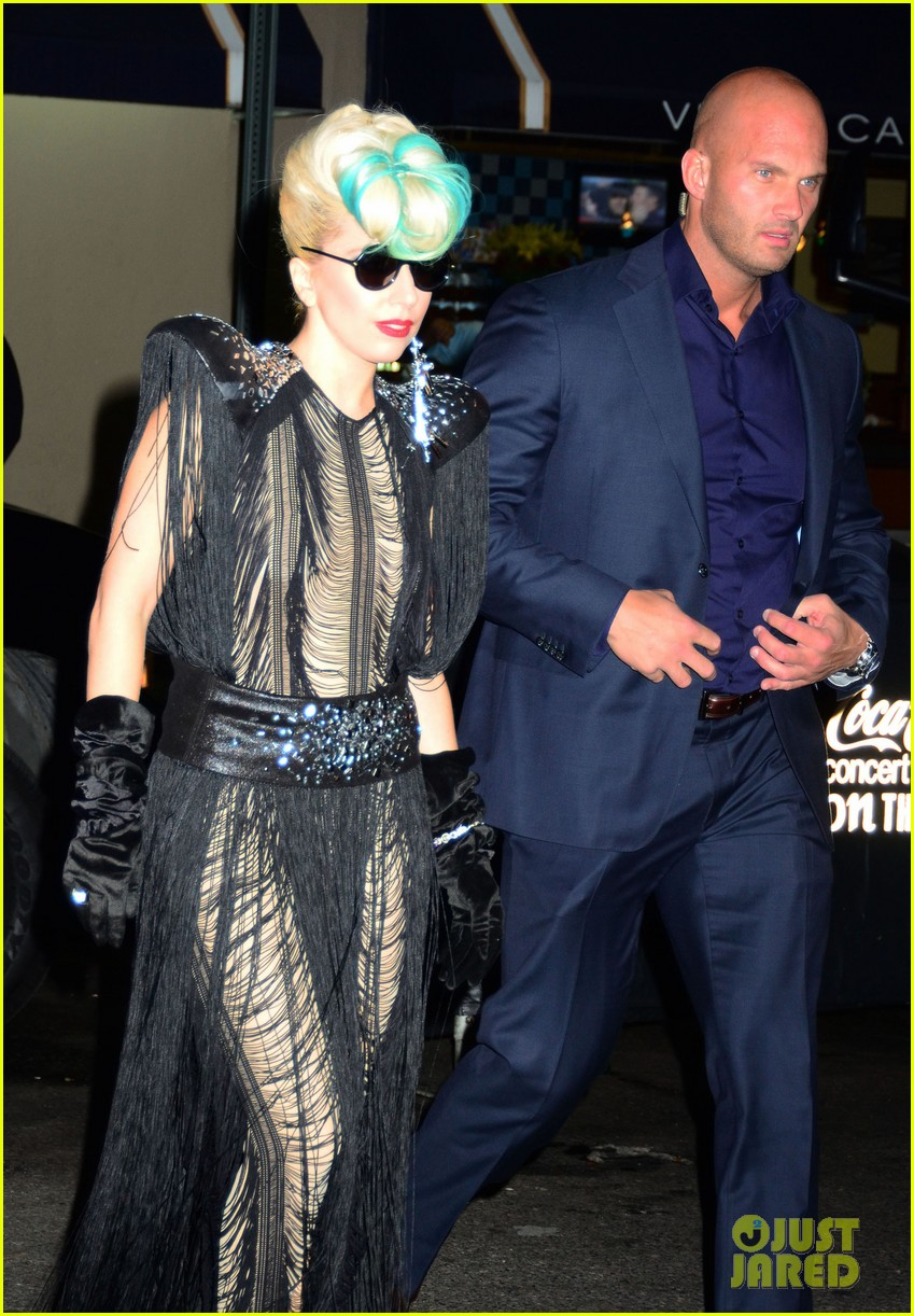 Lady Gaga Performs At Sting S Birthday Celebration Photo