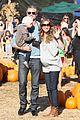 rebecca gayheart eric dane pumpkin patch with billie 13