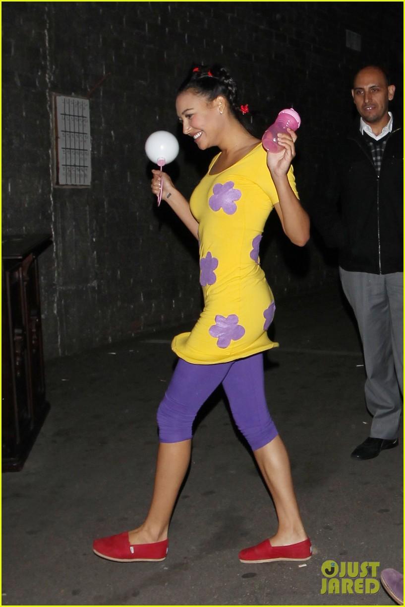 Glee' Cast: Halloween Costumes Revealed!: Photo 2595228   Chris ...
